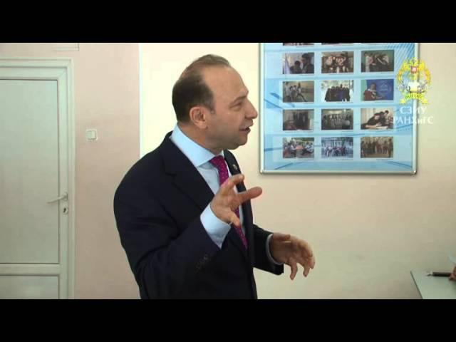 Открытая лекция Владимира Квинта «Стратегическое управление в современном мире»