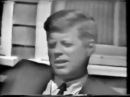 CBS TV Interview with President John Fitzgerald Kennedy