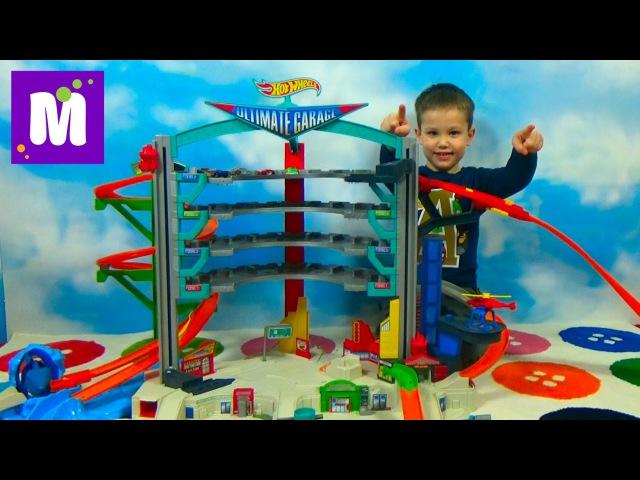 Hot Wheels - Четырехэтажный игрушечный паркинг на 36 машинок УЛЬТИМАТУМ (Ultimate Garage) можно заказать в нашем магазине