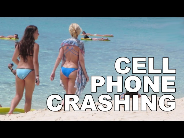 MediocreFilms - CELL PHONE CRASHING at the CAYMAN ISLANDS!