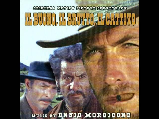 Ennio Morricone - The Good, The Bad and The Ugly (titles) - Il Buono, Il Brutto E Il Cattivo (1966)