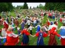 Русские народные подвижные игры на фестивале ЗОЖ Здравица
