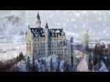 Самый сказочный замок Германии- Neuschwanstein. Падает снег(Радмила Караклаич)