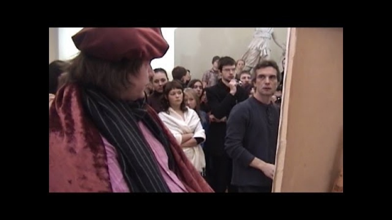 Николай Блохин. Мастер-класс - рисунок «Художник»