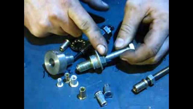 Что такое винтовая (гаечная) заклёпка или вытяжная заклепка. Ее применение