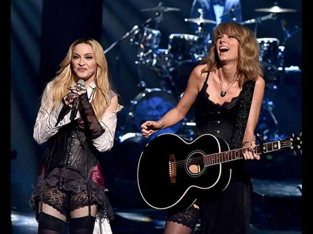 Madonna - Ghosttown HD ( live at 2015 iHeartRadio Music Awards featuring Taylor Swift)