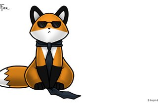 Глупая лисица