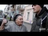 Мудрая бабушка против молодого бандеровца