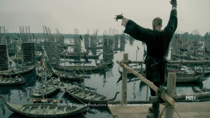Викинги Vikings 3 сезон Спецэффекты 2014 HD