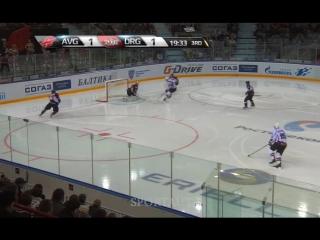 Авангард - Динамо Рига: 12.11.2015.Регулярный чемпионат КХЛ / 2–3Б