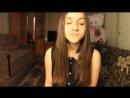 """Ани Лорак - """"Я вернусь"""" (cover. Алина Назаренко),девушка красиво поет,классный голос,шикарный голос,талантливая девушка"""