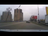 Авария в районе пежо центра. 21.02.16 около 13-48