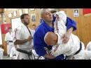 Сергей Косоротов обучает дзюдо мастеров каратэ