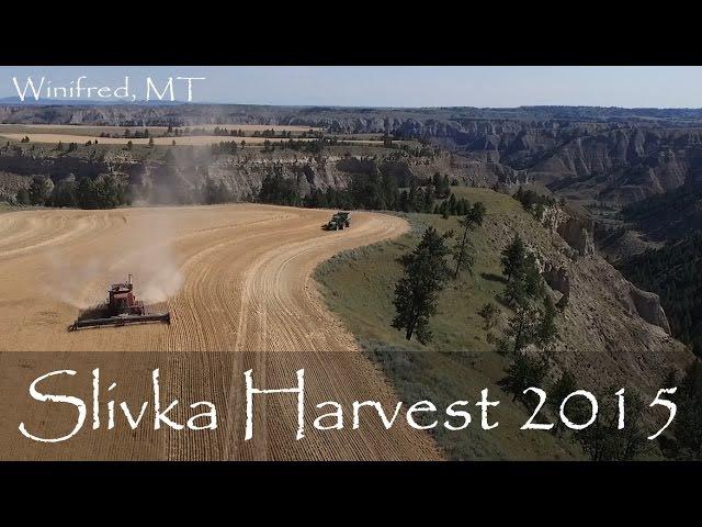 Harvesting Along the Edge in Central Montana (Slivka Harvest 2015)