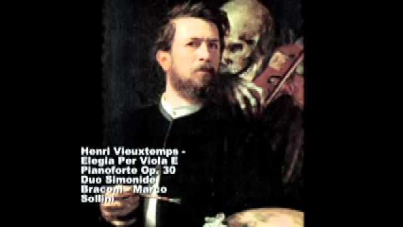 Henri Vieuxtemps (1820-1881) - Elegy for Viola and Piano Op.30
