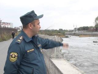 Северо-Осетинский пожарный спас девушку