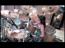 10 Year Old Girl Drummer- Paulina From Mexico - My Life Would Suck-Cobus Version