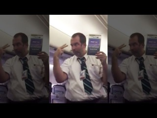 Hilarious Westjet Flight Attendant Safety Demo Leaves Passengers In Stitches (VIDEO)