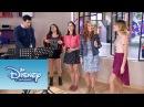 Violetta Cami Fran y Naty cantan Supercreativa Momento Musical Violetta