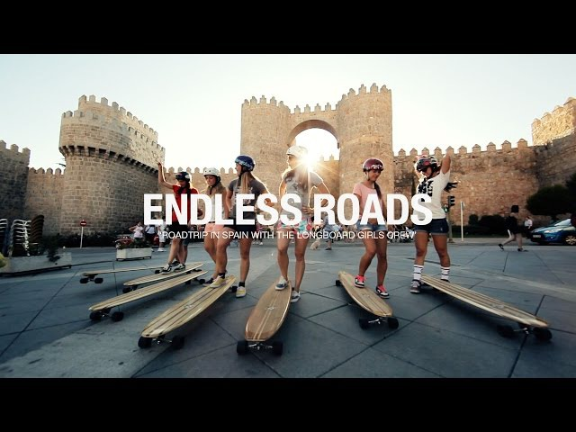 ENDLESS ROADS (complete movie, with Longboard Girls Crew)