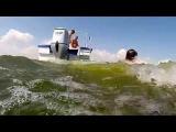 Экстримальное видео! Вейкборд в Камышине