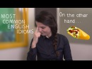 Weekly English Words with Alisha - Most Common English Idioms