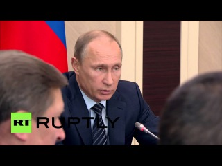 Россия: Путин хочет более доступным внутренний рыбу высокого качества.
