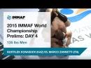IMMAF 2015 - 126-135 lbs Men's NURTILEK KONASHOV KAZAKHSTAN VS MARCO ZANNETTI ITALY