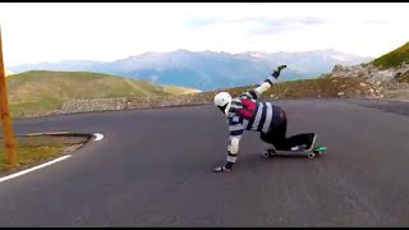 GT Downhill Epic Longboarding in The Alps 2014