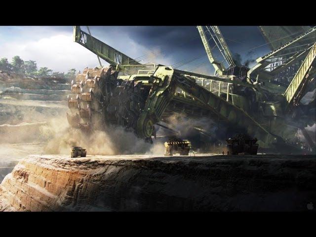 Bucket Wheel Excavator (Bagger 293)