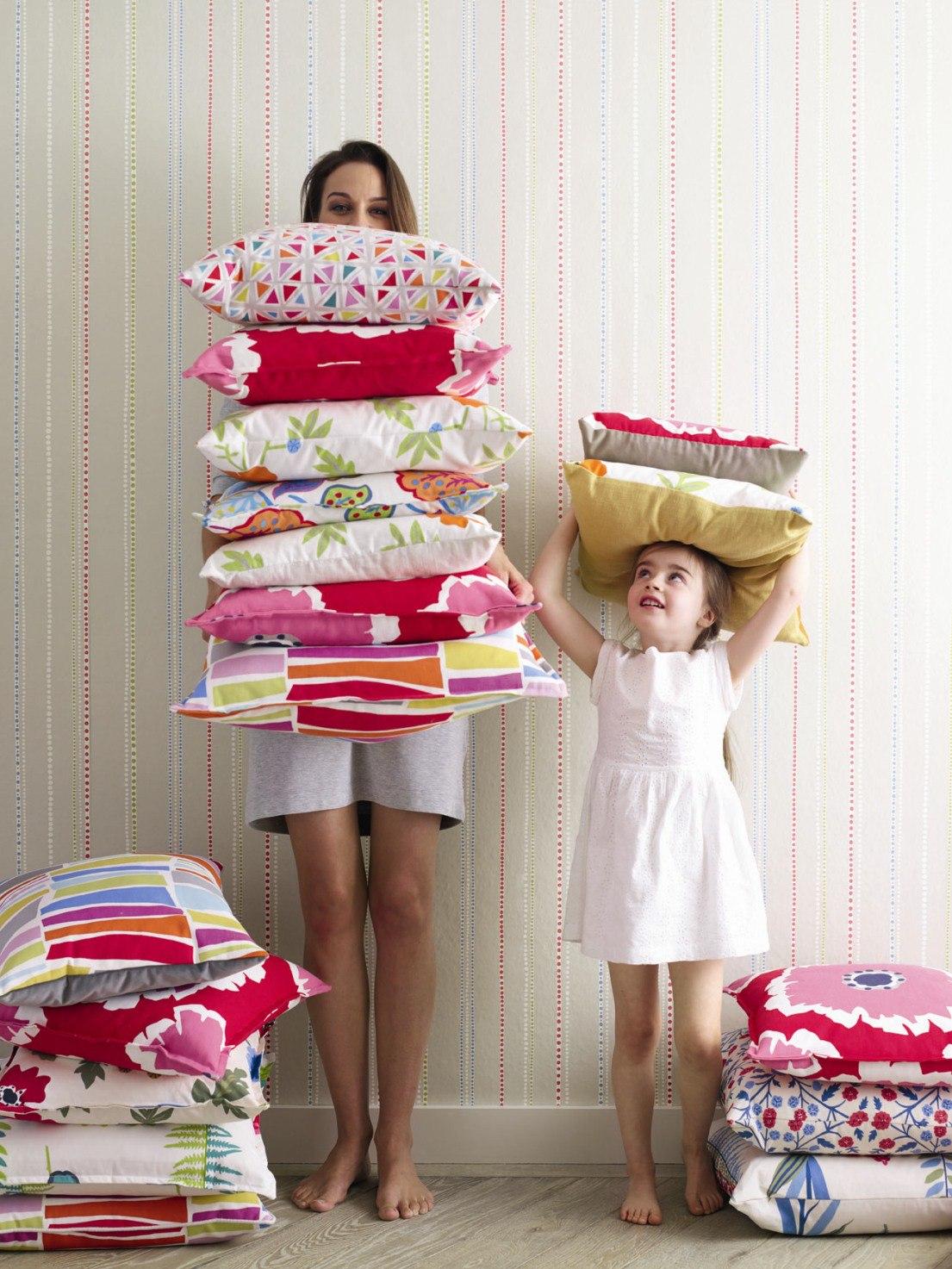 Декоративные подушки.