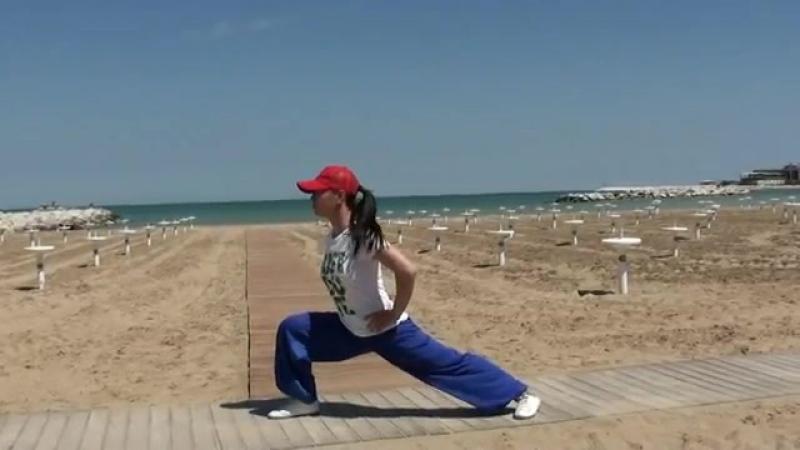 WUSHU TUTORIAL- Bow Stance / Гун бу