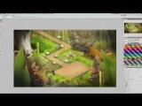 Создание игрового фона. Игорь Глущенко (RealJamStudio) - Cпецифика игрового арта от