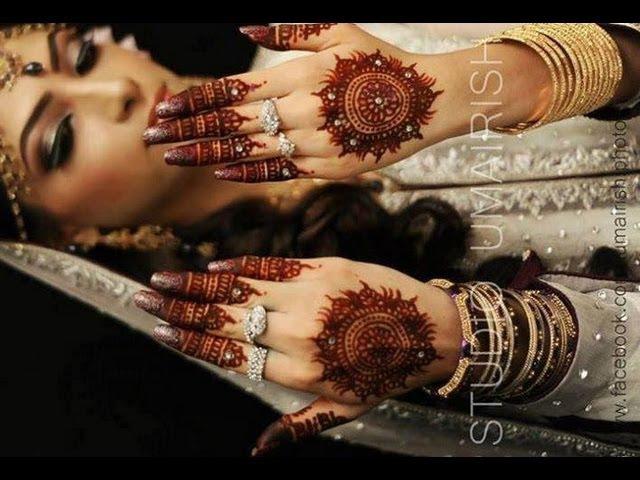 Bridal Hathphool Henna/Mehndi Design : Learn Traditional Indian Bridal Henna