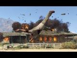 Helix Snake destroys GTA V single player with mods, leftover clips part 2