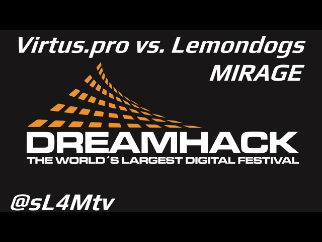 CSGO DHS 2013 Playoff VirtusPro vs Lemondogs GAME 1 @ mirage