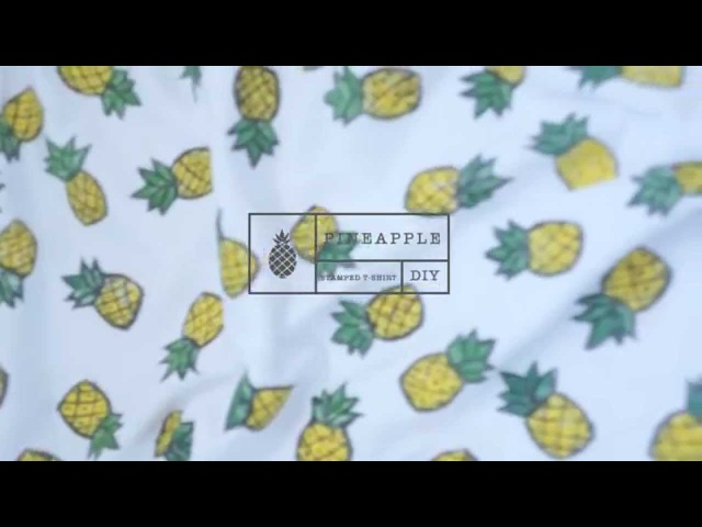 Декорирование футболки штампом DIY stamping 2 вари