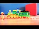 Мультик про поезд и  динозавров: Герои мультфильма Поезд Динозавров: Считаем от 1 до 5