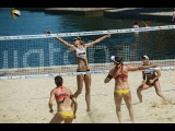 BRAZIL vs CANADA 1 | Women Semifinals 1 | FIVB 2015 POREC MAJOR |