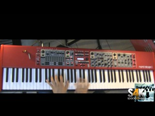 Clavia Nord Stage 2 Demo part 2 performed by space4keys s4k tv rhodes piano synth
