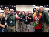 Bryan Cranston disguised as Walter White - Comic-Con 2013