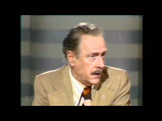 Marshall Mcluhan Full lecture The medium is the message - 1977 part 1 v 3