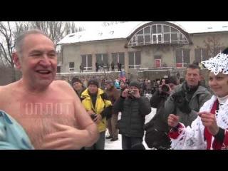 2014.12.07. «моржи» открыли зимний сезон