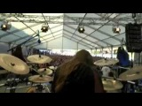 Carach Angren - Namtar drums - 2 flies flew into a black sugar cobweb, live at Brutal Assault 2015