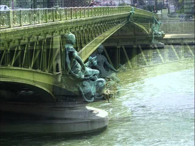 APOLLINAIRE, Guillaume - Le pont Mirabeau.