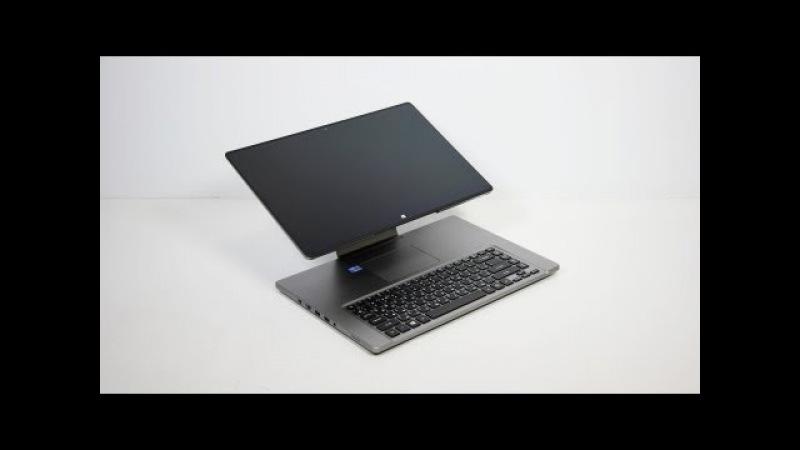 Видео обзор гибридного ноутбука Acer Aspire R7-571G