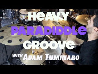 Adam's Heavy Paradiddle Groove - Drum Lesson with Adam Tuminaro