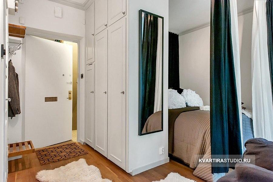 Уютная квадратная квартира-студия 26 м в Вене / Австрия - http://kvartirastudio.