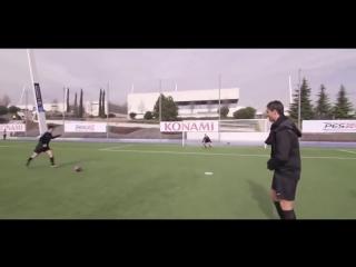 Роналду переоделся в бомжа и сыграл в футбол с обычным парнем!