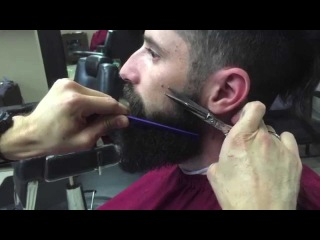 How to Trim, Groom And Style Your Beard | Straight Razor Shave and Shave Oil